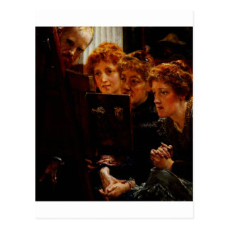 A Family Group by Sir Lawrence Alma Tadema Postcard