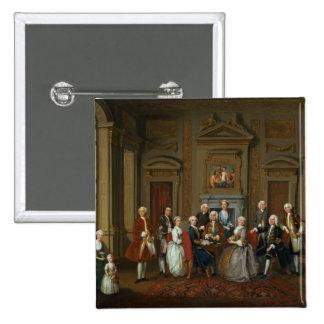 A Family in a Palladian Interior , 1740 Button