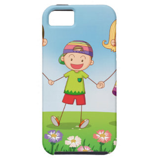 A family in the garden iPhone 5 cases
