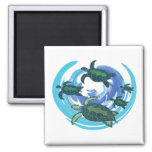A FAMILY LOVE 2 INCH SQUARE MAGNET
