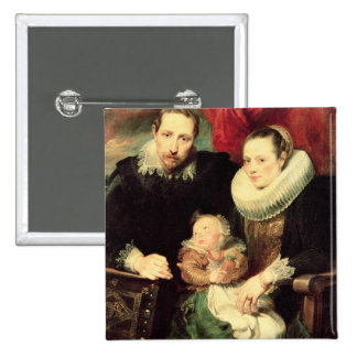 A Family Portrait, c.1618-21 Pinback Button
