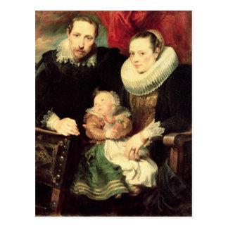 A Family Portrait, c.1618-21 Postcards