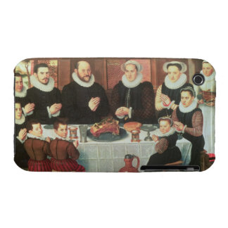 A Family Saying Grace Before the Meal, 1585 (oil o Case-Mate iPhone 3 Case