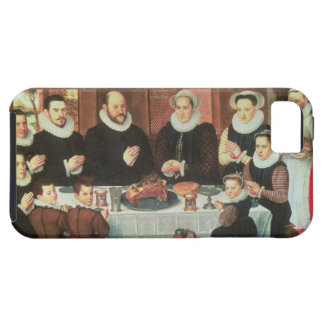 A Family Saying Grace Before the Meal, 1585 (oil o iPhone SE/5/5s Case