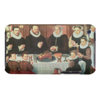A Family Saying Grace Before the Meal, 1585 (oil o iPod Case-Mate Case