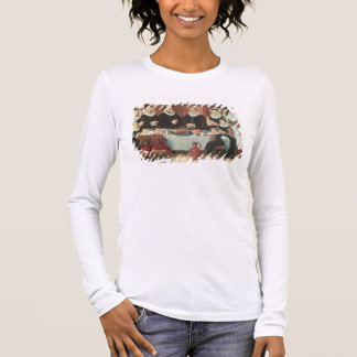 A Family Saying Grace Before the Meal, 1585 (oil o Long Sleeve T-Shirt