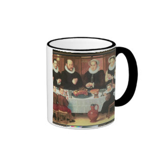 A Family Saying Grace Before the Meal, 1585 (oil o Coffee Mug