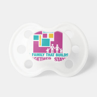 A Family That Builds Together, Stays Together! BooginHead Pacifier