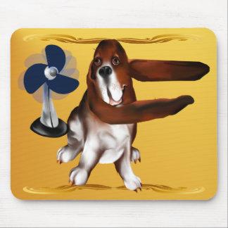 A Fan Of  Bassets Mousepad