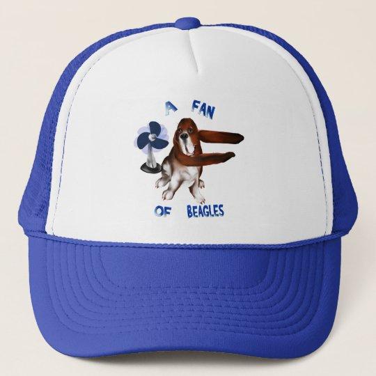 A Fan Of Beagles lettered Hat