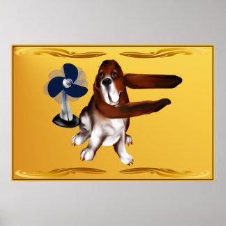 A Fan Of Beagles Poster