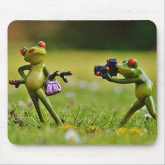 """""""A Fancy Frog"""" - Mousepad"""