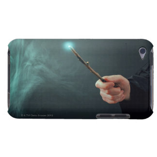 A fantasy wizard making magic with wand. iPod touch covers