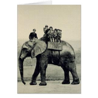 A Farewell Ride on Jumbo Card