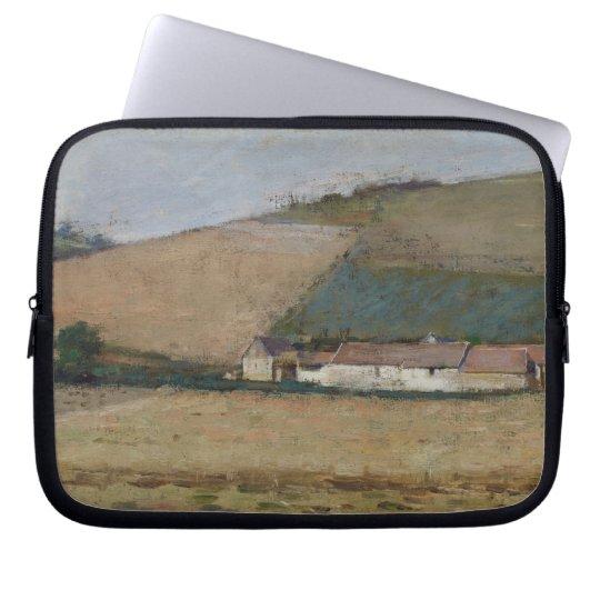 A Farm Among Hills, Giverny, c.1887 Computer Sleeve