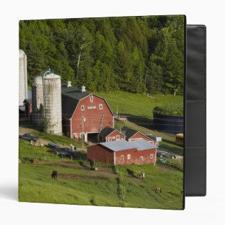A farm in Barnet Center, Vermont. Connecticut Vinyl Binder