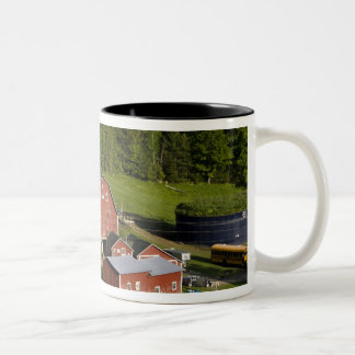 A farm in Barnet Center, Vermont. Connecticut Two-Tone Coffee Mug