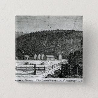 A Farm in Canaan, Connecticut Button