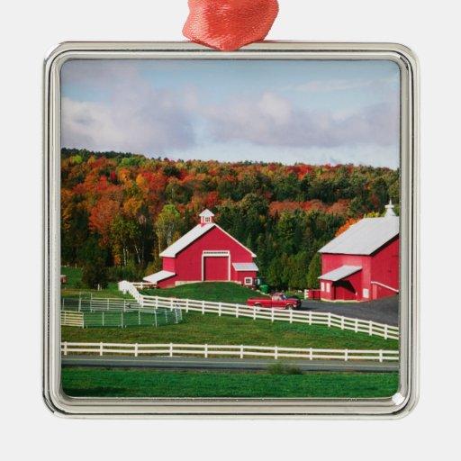 A farm in Vermont near Peacham. RELEASE Christmas Ornaments