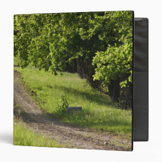 A farm road in Ipswich, Massachusetts. Vinyl Binder