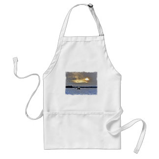 A Farmers Day Off Adult Apron