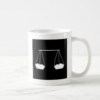 A farmers harvest silhouette coffee mug