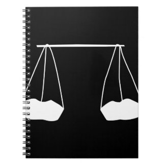 A farmers harvest silhouette notebook