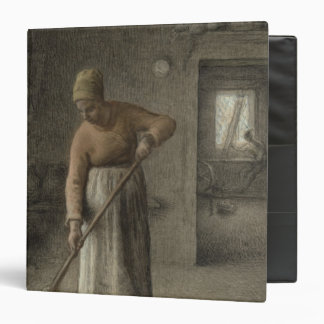 A Farmer's wife sweeping, 1867 3 Ring Binder