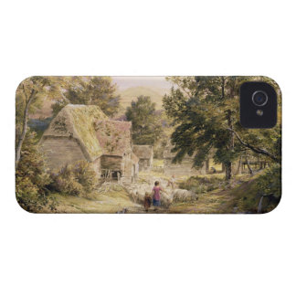 A Farmyard near Princes Risborough, 1845/6 (w/c on iPhone 4 Case-Mate Case