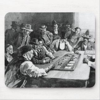 A Faro Game at El Paso Mouse Pad