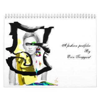 A fashion portfolio By Erin Tengquist Wall Calendars