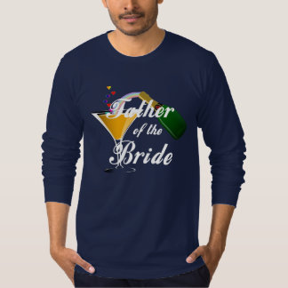 A Father of the Bride Champagne Toast Shirt