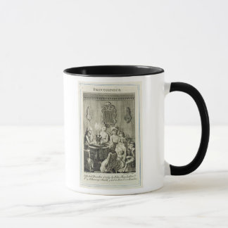 A Father Reading to his Family by Candlelight, eng Mug