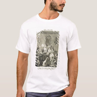 A Father Reading to his Family by Candlelight, eng T-Shirt