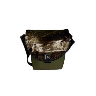 A faun by the stream messenger bag