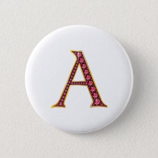 """A Faux-""""Ruby"""" Monogram Button"""