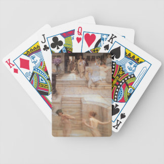 A Favorite Custom by Sir Lawrence Alma-Tadema Bicycle Playing Cards