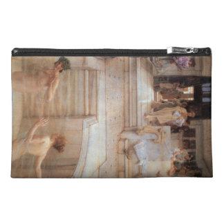 A Favorite Custom by Sir Lawrence Alma-Tadema Travel Accessory Bag