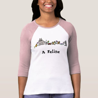 A Fe-line T-shirt