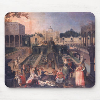 A Feast in the park of the Duke of Mantua Mouse Pad