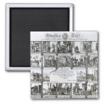 A Feast to Celebrate the Reformation 2 Inch Square Magnet