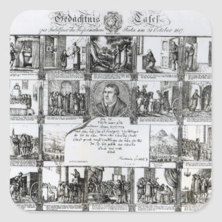 A Feast to Celebrate the Reformation Square Sticker