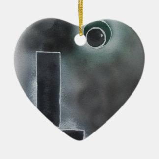 A Feeling of Confusion Ceramic Ornament