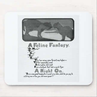 A Feline Fantasy Storybook Cats Mouse Pads