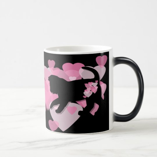 A Feline Valentine Magic Mug