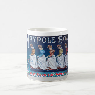 A Female Quintet Feels Fresh & Happy in the Saddle Classic White Coffee Mug