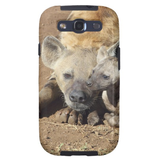 A female Spotted Hyena and her cub, Kruger Galaxy S3 Case