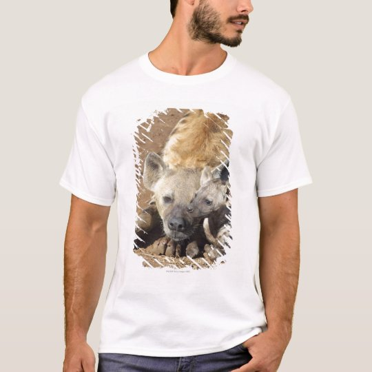 A female Spotted Hyena and her cub, Kruger T-Shirt