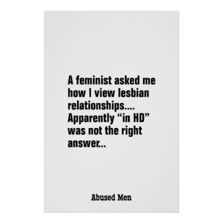 A Feminist Asked Me How I View Lesbian … Poster