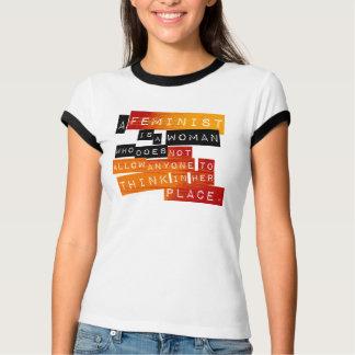 A Feminist Is... T-Shirt